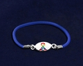 Autism Blue Stretch Bracelet