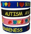 Autism Bracelet Mix and Match Styles- Adult size