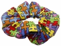 Autism Hair Scrunchie