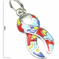 Autism Ribbon Mini Charm