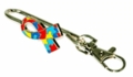 Autism Ribbon Purse Key Finder