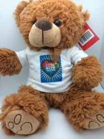 "Autism Teddy Bear ""I Love Someone with Autism"""