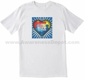 I Love Someone With Autism T-Shirt Adult and Youth Sizes