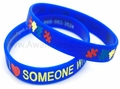 SALE!! I Love Someone with Autism Silicone Bracelet Adult Size