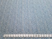 11 3/4 yards of Jessica Charles 2017 Emory Ink chevron upholstery fabric