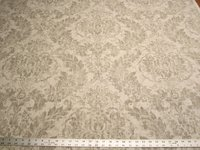 2 1/2 yards Covington Downton printed damask drapery fabric