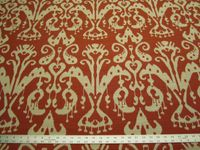 2 1/8 yards of Kravet Ikat design upholstery fabric r3012