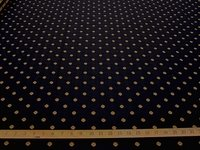 2 5/8 yards Robert Allen Flowercrest diamond upholstery fabric