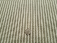 2 yards of Perennials Tatton Stripe Dove indoor outdoor upholstery fabric