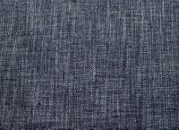3 3/4 yards of blue tweed type upholstery fabric