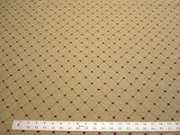 3 3/4 yards of Kravet Design diamond pattern upholstery fabric