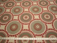 3 3/ 8 yards of Kravet Roman Circle upholstery fabric