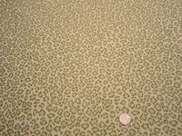 3 5/8 yards of Fabricut cheetah jungle upholstery fabric