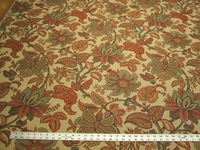 3.75 yards Kravet Jacobean tapestry upholstery fabric