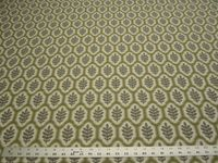 4 1/2 yards Stroheim Piedmont Leaf Harbor Grey upholstery fabric