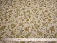 4 1/4 yards of kravet floral upholstery fabric