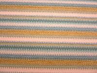 4 yards of Fabricut Sari Stripe Mosaic Blue upholstery fabric