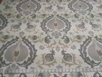 4 yards of Trend Jaclyn Smith 03722 Platinum print upholstery/drapery fabric