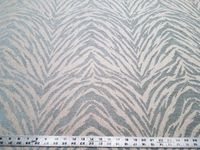 5 yards of Nikita Mineral animal pattern chenille upholstery fabric