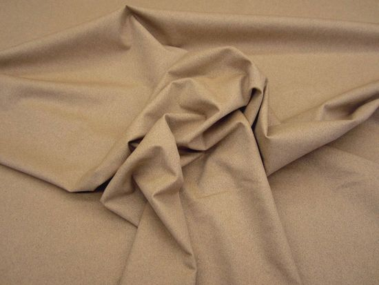 6 5/8 yards light brown flannel suede upholstery fabric