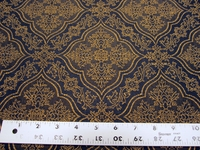 Robert Allen Fanwood Ink Upholstery Fabric per yard