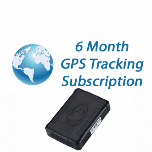 6 Month GPS Tracking Subscription (Sinotrack)
