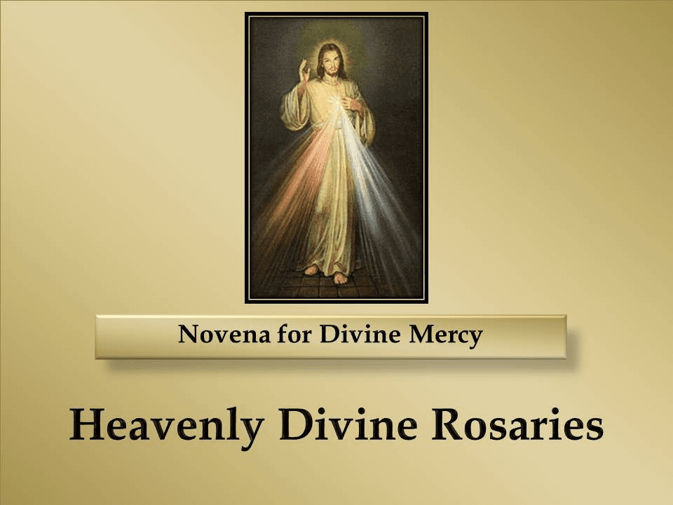 A Novena for Divine Mercy
