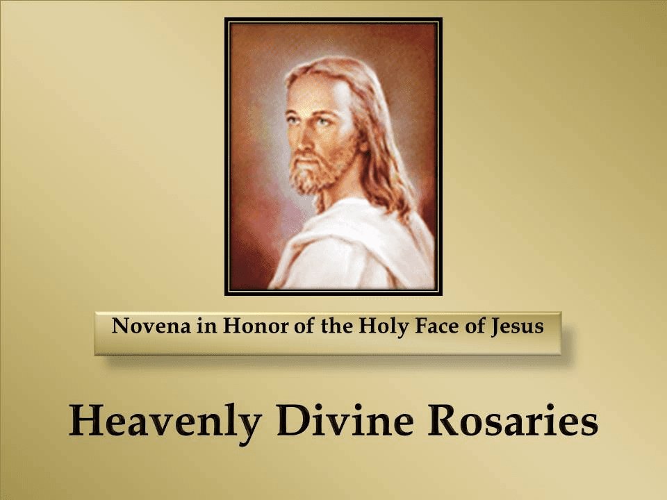 A Novena in Honor of the Holy Face of Jesus
