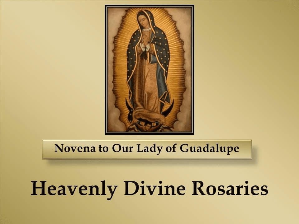 A Novena to Our Lady of Guadalupe