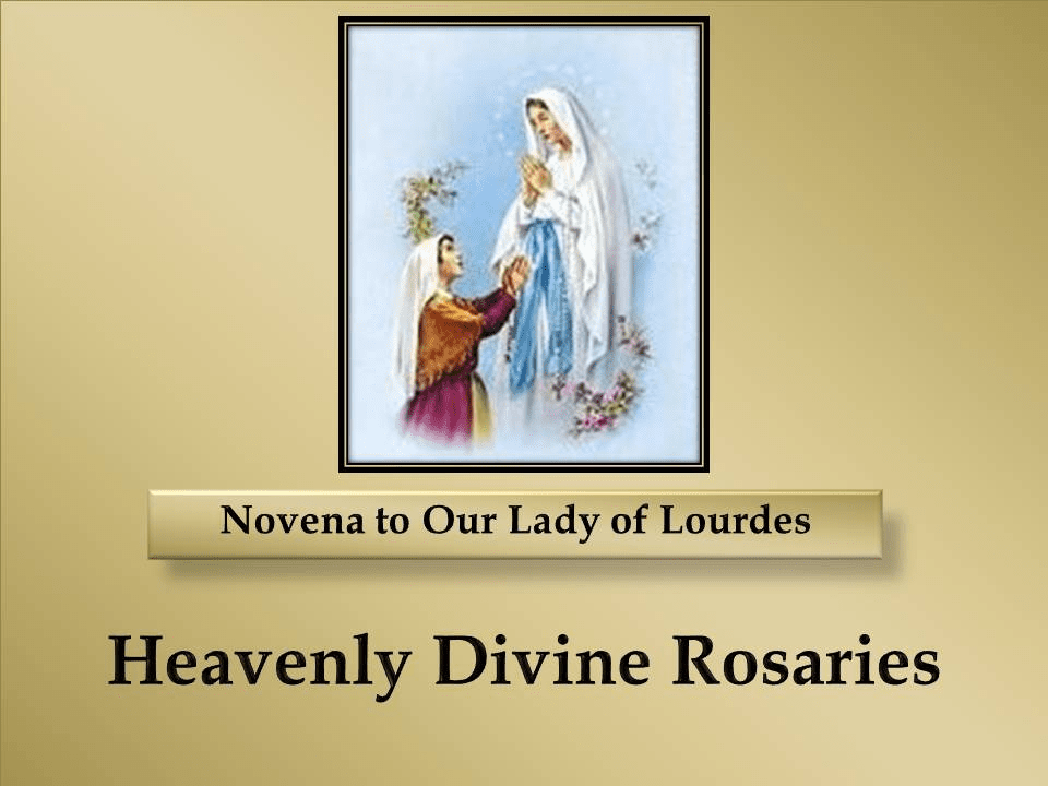 A Novena to Our Lady of Lourdes