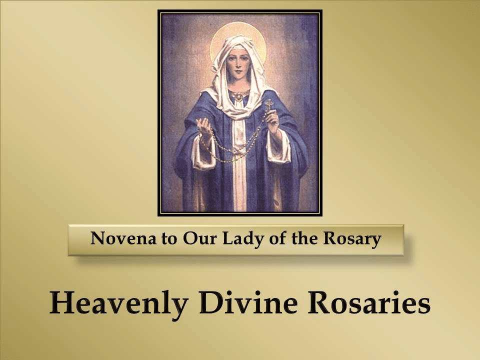 A Novena to Our Lady of the Rosary