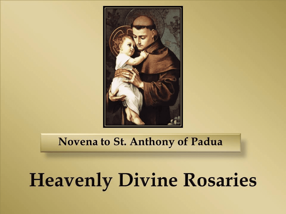 A Novena to St. Anthony of Padua
