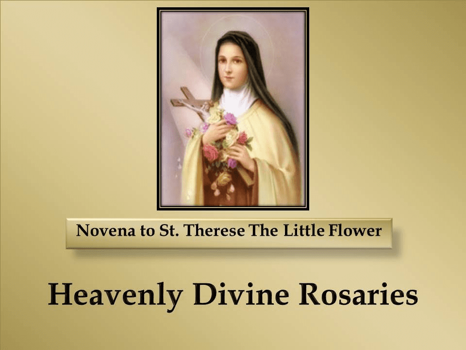 A Novena to St. Therese The Little Flower