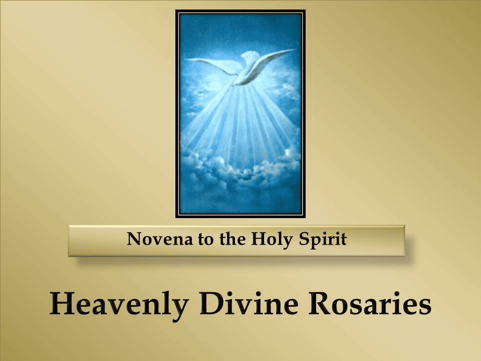A Novena to the Holy Spirit