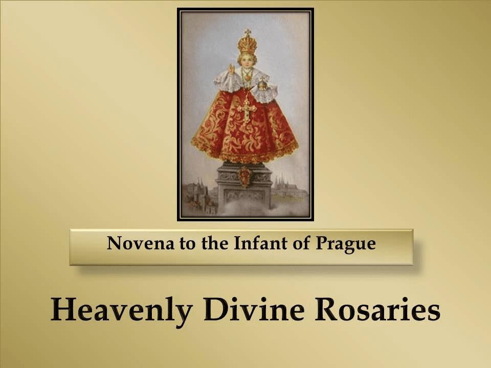 A Novena to the Infant of Prague