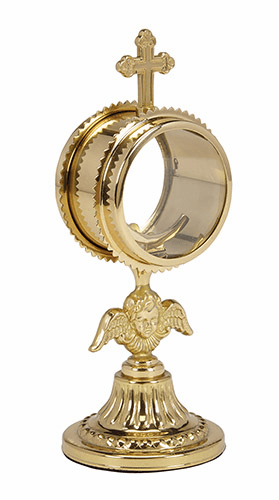Angel Monstrance with Luna by Stratford Chapel