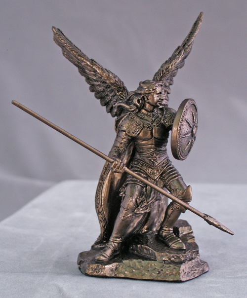 Archangel Raphael Cold-Cast Bronze Statue by Veronese Collection