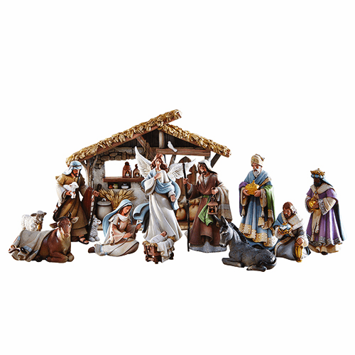 Avalon Gallery Bethlehem Night Christmas Nativity Set Scene