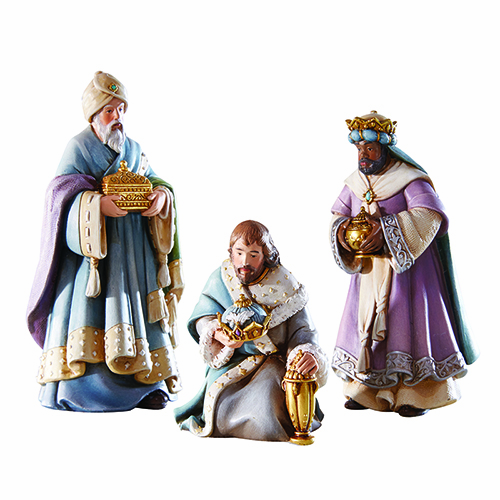 Avalon Gallery Bethlehem Night Christmas Three Wise Men Nativity Scene