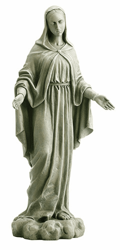 "Avalon Gallery Christian 24"" Our Lady Of Grace Garden Statue"