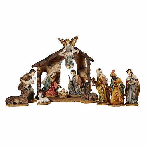 Avalon Gallery Christmas 12-pc Nativity Set