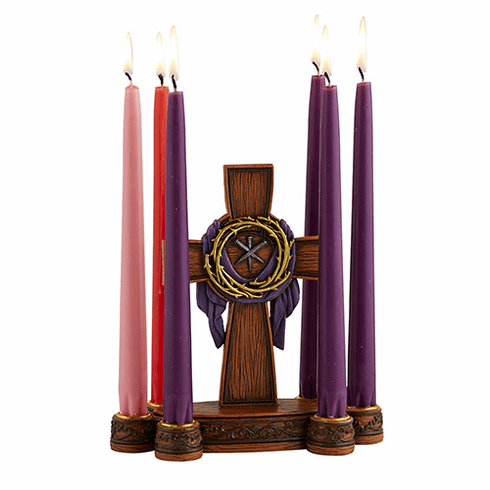 Avalon Gallery Crown of Thorns Lenten Candle Holder
