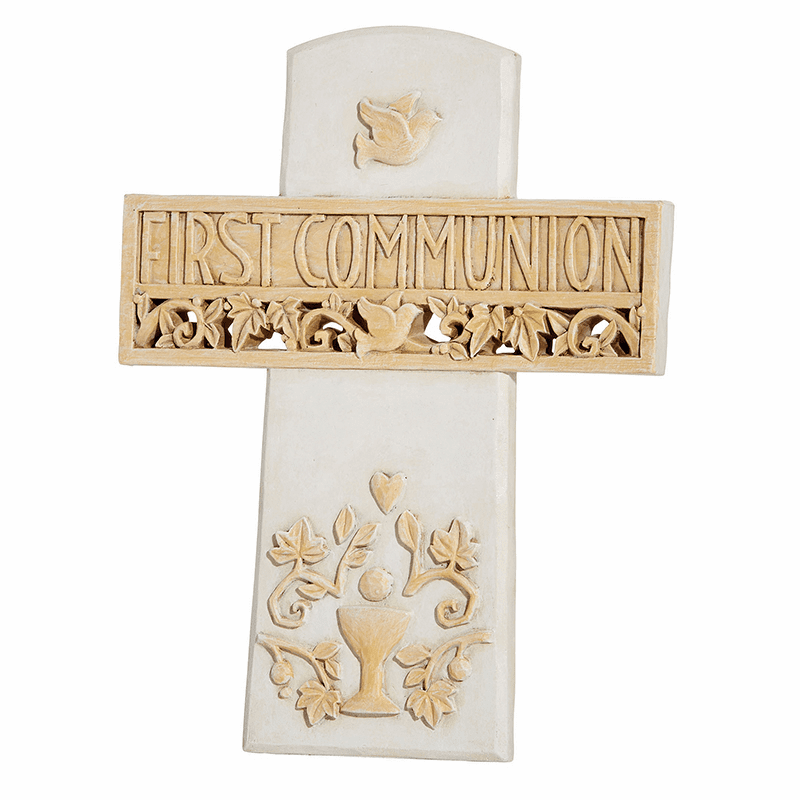 Avalon Gallery First Holy Communion Tabletop or Wall Cross