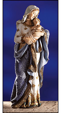 Avalon Gallery Large Adoring Madonna and Child Statue
