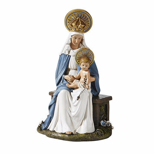 Avalon Gallery M.I. Hummel Seated Madonna and Child Statue