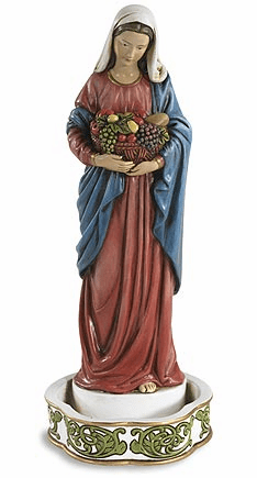 Avalon Gallery Madonna Bountiful Blessings Rosary Holder Statue