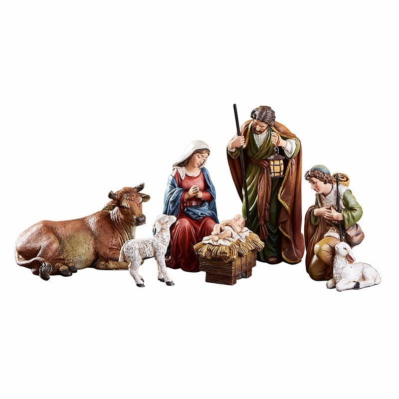 "Avalon Gallery Michael Adams 6-piece 5"" Christmas Nativity Set"