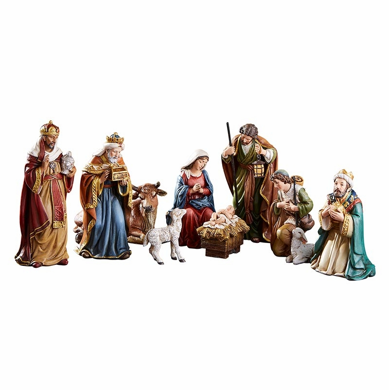 "Avalon Gallery Michael Adams 9-piece 5"" Christmas Nativity Set"