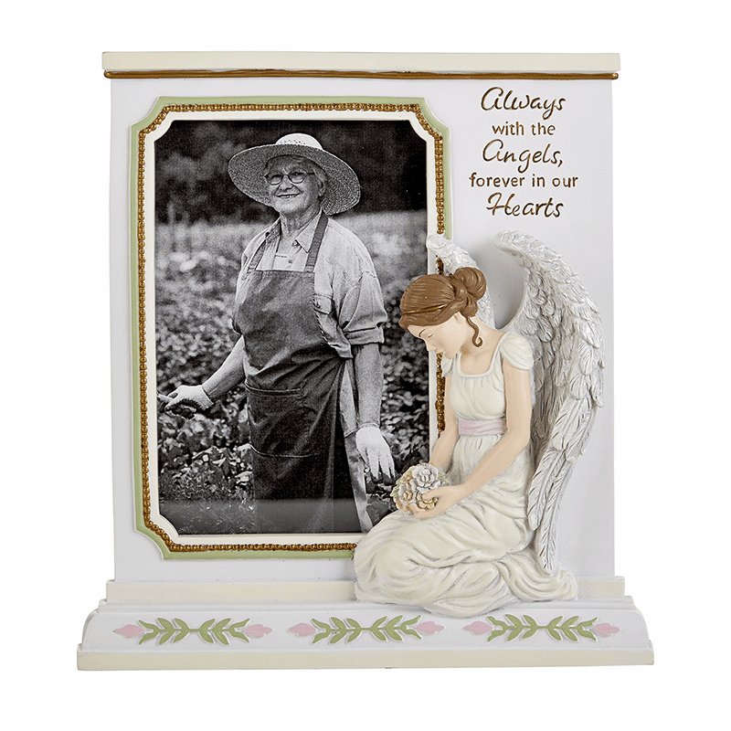 Avalon Gallery Michael Adams Memorial Angel Photo Frame