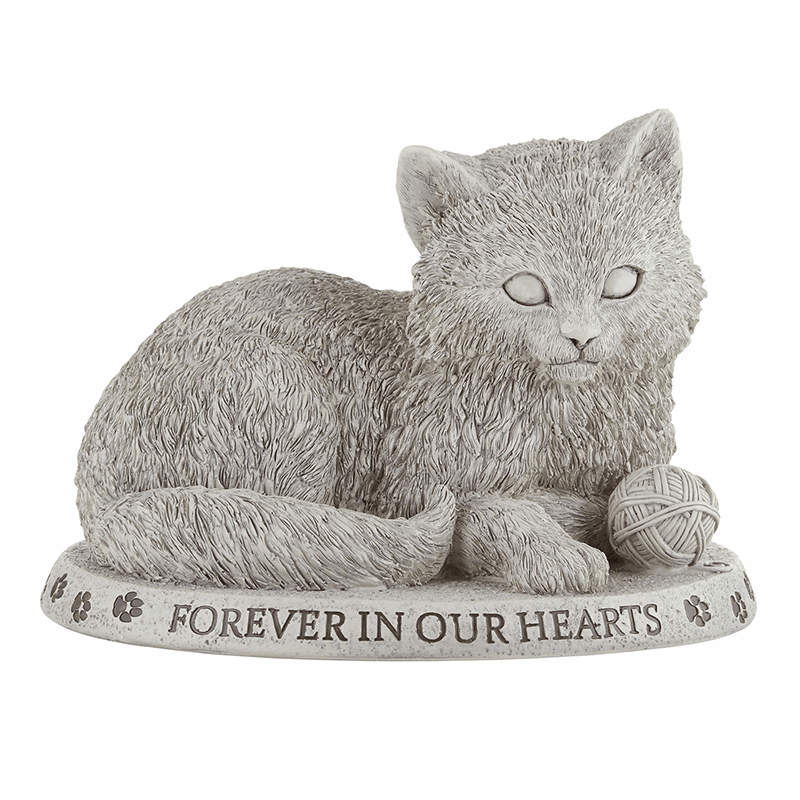 Avalon Gallery Michael Adams Memorial Forever in Our Hearts Cat Garden Marker